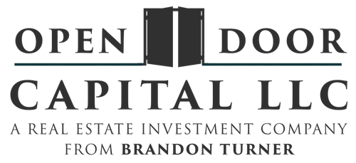 Open Door Capital Logo: A Real Estate Investment Company From Brandon Turner