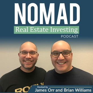 Nomad Real Estate Investing Podcast Cover Photo