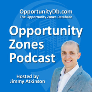 Opportunity zones podcast banner