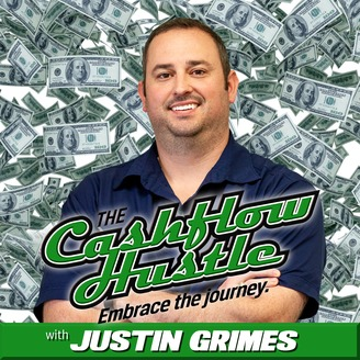 The Cashflow Hustle with Justin Grimes Podcast Cover Art